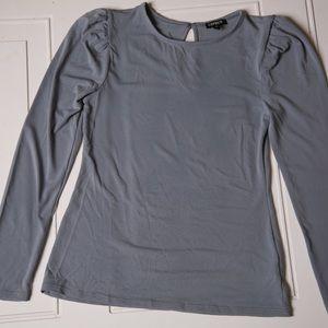Express Dressy Shirt Gray